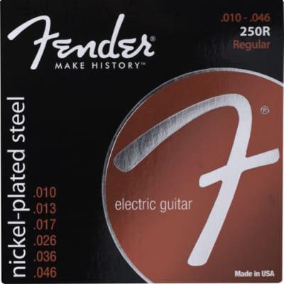 Fender Super 250's Nickel Plated Steel Strings - Regular .010 - .046