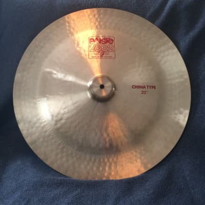 """Paiste 22"""" 2002 China Type Cymbal"""