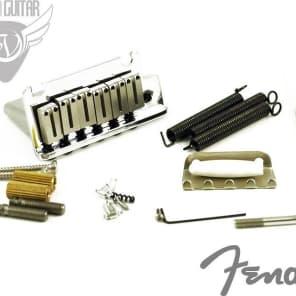 Fender American Series Stratocaster Strat Bridge Tremolo Assembly - CHROME (099-2050-000)