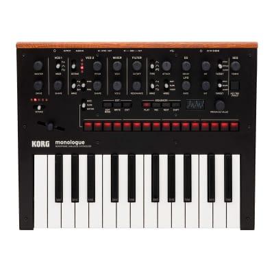 Korg Monologue Analogue Synthesizer - Black