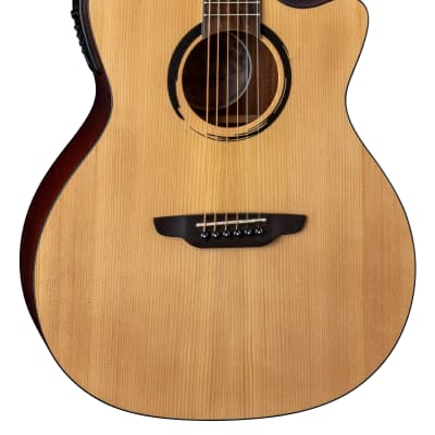 Luna WABI E GC WABI SABI Grand Concert Solid-Top Acoustic-Electric Guitar with Preamp for sale