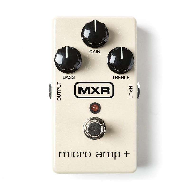 MXR M233 Micro Amp+ Boost Effects Pedal