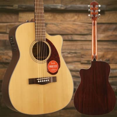 Fender CC-140SCE with Case, Natural for sale