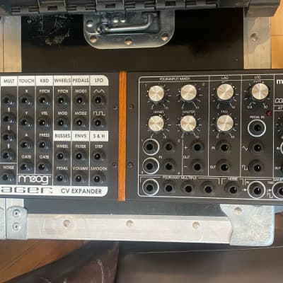 Moog Moogerfooger CP-251 & VX-351 Voyager CV Expander (with rack mount) Black