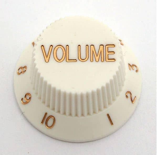 weiß Goeldo KBSVW Volume-Knopf für Strat