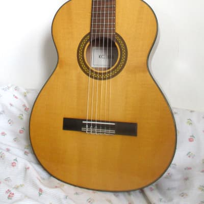 vintage 70s Kay restored classical guitar with new set-up for sale