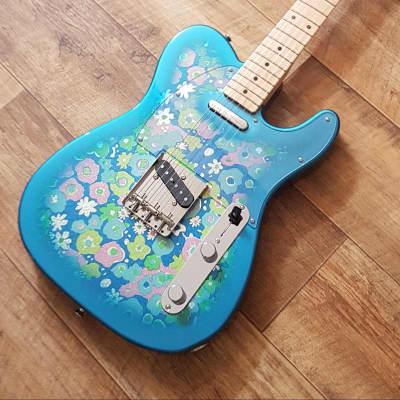 Fender 69 Classic Telecaster Limited Edition Blue Flower 2017 Blue Flower for sale
