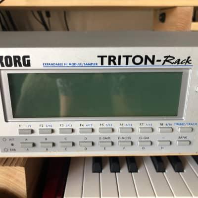 Korg Triton Rack plus extras