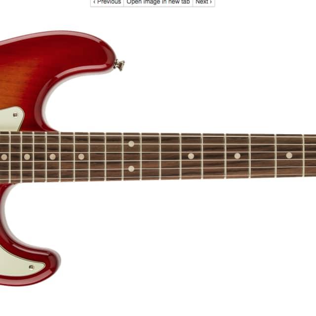 SQUIRE Standard Stratocaster®, Rosewood Fingerboard, Cherry Sunburst image