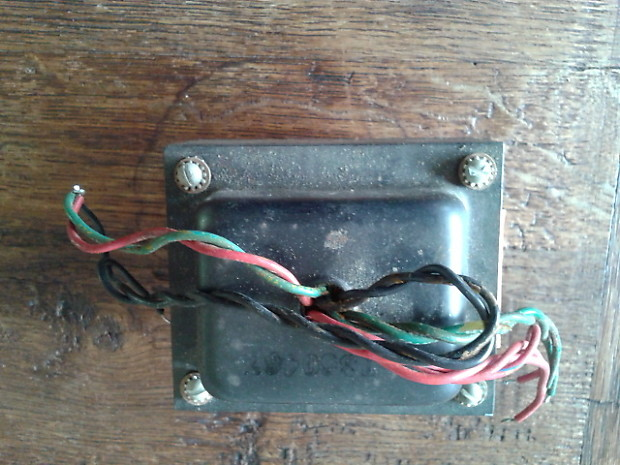 Vintage Fender Bassman Power Transformer 022814 606-646