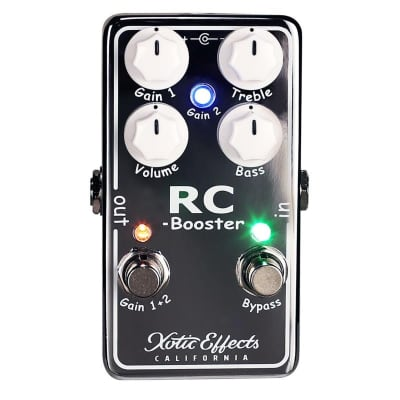 Xotic Effects RC Booster V2 Pedal for sale