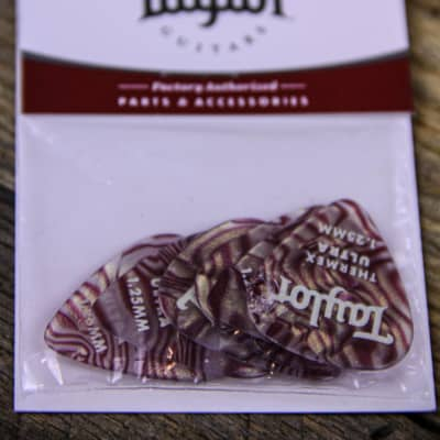 Taylor 1.0mm Premium Thermex Ultra Picks Ruby Swirl 6-Pack