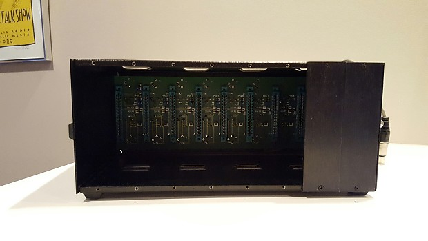 Osa Old School Audio Trackpack 8 Slot 500 Series Rack Lunchbox