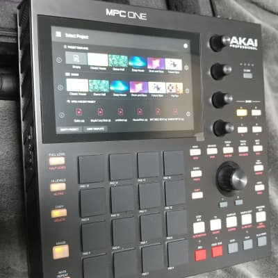 Akai MPC One - NEW Cond with Case and 3d Printed Stand!