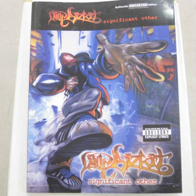 Limp Bizkit Significant Other Sheet Music Song Book Songbook Guitar Tab Tablature