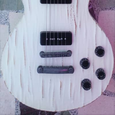 Spear P90 LP, Distressed White - Free Gig Bag, Strings + Strap! for sale
