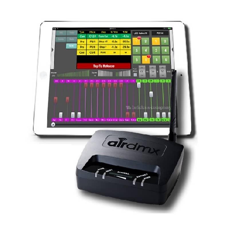 EHRGEIZ AIRDMX ARTNET DMX Interface for iPAD Includes Software