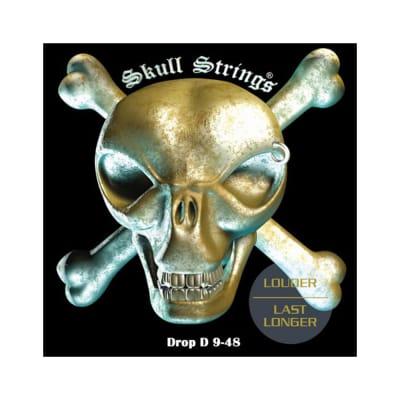 Skull Strings 9-48 Drop Line cuerdas de guitarra