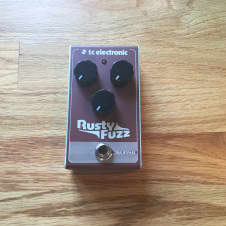 TC Electronic Rusty Fuzz True Bypass Effects Pedal