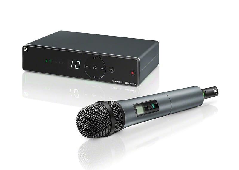 Sennheiser xsw b band sistema wireless con microfono reverb