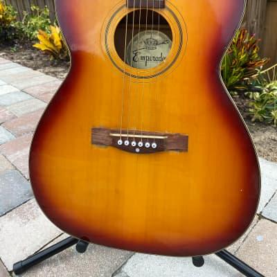 Emperador Emperador Acoustic guitar 1970's sunburst for sale
