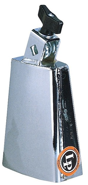 LP Latin Percussion Deluxe Black Beauty Cowbell Chrome ...