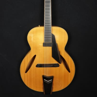 D'Aquisto DQ Avant Garde Hollowbody made 2005 in natural finish with pickup and original case for sale