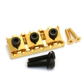 "Gold Schaller Germany Floyd Rose® R2 1-5/8"" Locking Guitar Nut BP-2026-002"