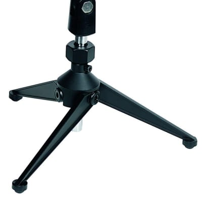 Proel DST60TL Black Folding Table-top Microphone Stand