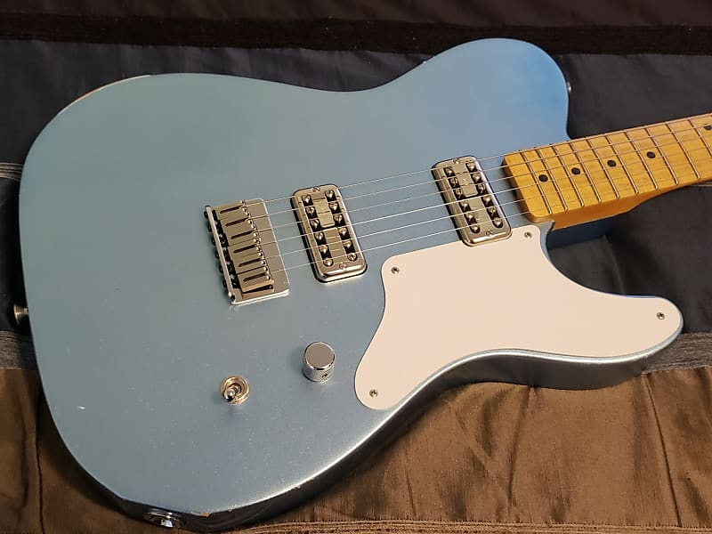 Warmoth MJT La Cabronita Especial Build Fender Clone Ice Blue Metallic