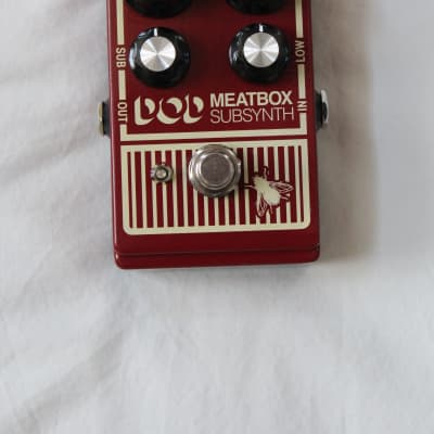 DOD Meatbox Sub Synth Reissue Bass Pedal Subharmonic Synthesizer and Low-end Enhancer with Octave for sale