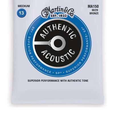 Martin MA150 Authentic Acoustic SP 80/20 Bronze Medium .13-.56