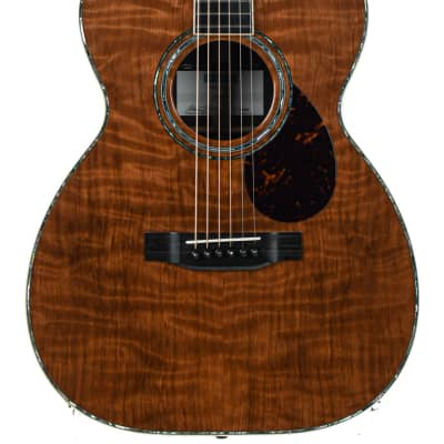 Rozawood Wizard OM 42 Style Flame Redwood Indian Rosewood #200617 for sale