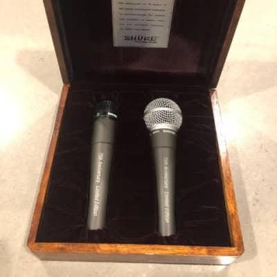 Shure SHURE 75th Anniversary SM57 & SM58 Collector Set in LTD ED Box