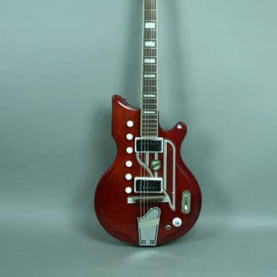 1962 National Westwood 77 Vintage Original Electric Guitar Red for sale