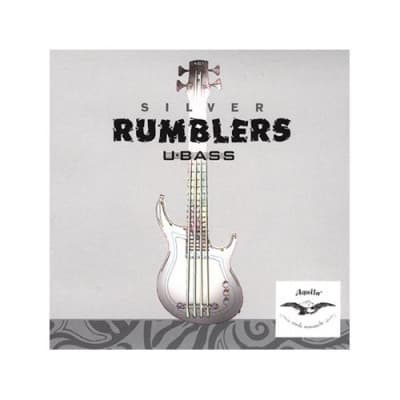 Aquila Silver Rumblers - Kala U-BASS Strings