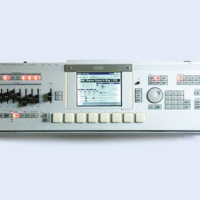 KORG M3 120-Voice Sound Module, Sampler, Workstation OS V2.05 Xpanded with New LCD. Made in JAPAN...