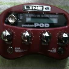 Line 6 Pocket Pod **cheapest on Reverb!** 2010s Red