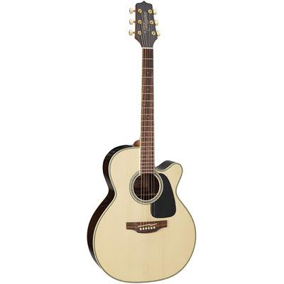 Takamine GN51CE Mahogany NEX Cutaway Natural Electro Acoustic Guitar for sale