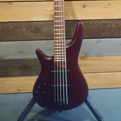 Ibanez -SR Series SR505EL | Left-Handed Bass Guitar / Brown Mahogany - Factory Second for sale