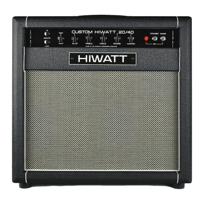 "SS20/40C1 - Custom Hiwatt 20/40 Combo w/ 1x12"" English Fane Speaker"