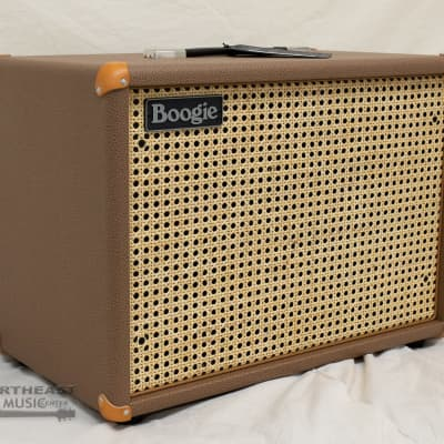 Mesa/Boogie 1x12 Widebody Closed Back Speaker Cabinet - Cocoa Bronco, Wicker Grille for sale