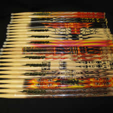 Hot Sticks ArtiSticks 12 Pair Size 5A NYLON Tip Drum Sticks image