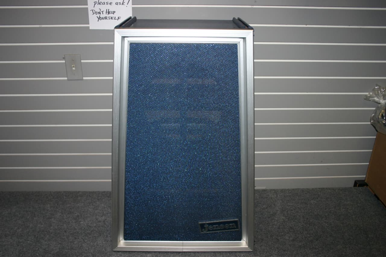 Empty Jenson Speaker Cabinet Sparkling Blue Moonlight