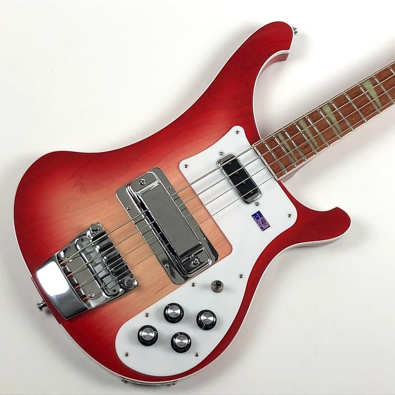 35e6ce9543 Rickenbacker 4001 bass 2003 Fireglo Red Sunburst w/original | Reverb