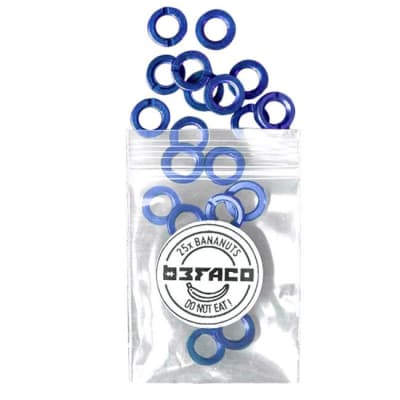 Befaco Instrument Bananuts 25 Pack Blue [Three Wave Music]