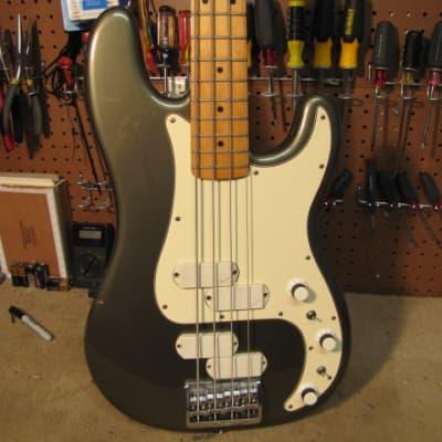 Fender Precision Elite II 1983 Inca SIlver for sale