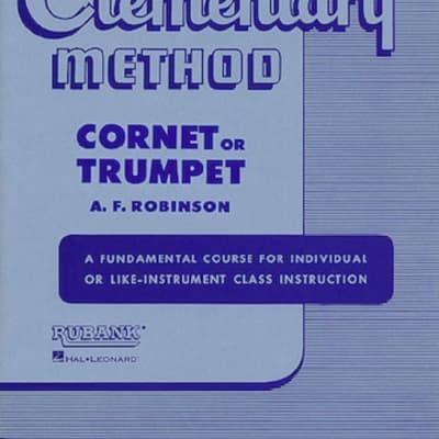 Rubank Publications Intermediate Trumpet or Cornet Method Book