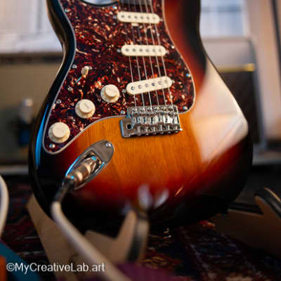 Custom Squier Classic Vibe '60s Stratocaster FralinBlues Special Pickups