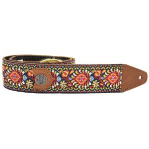 Copper Peace GYPGT Original Gypsy Leather Guitar Strap